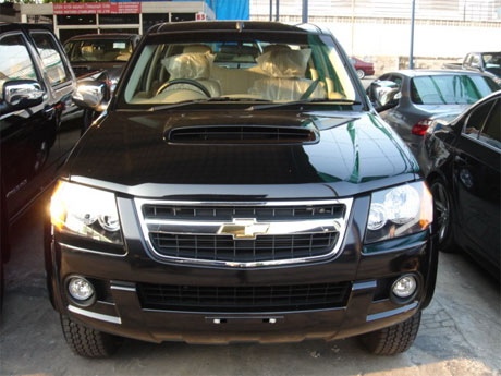 Chevy Colorado 2008 front - Get your Chevy now at Sam Motors Thailand and Jim 4x4 Thailand
