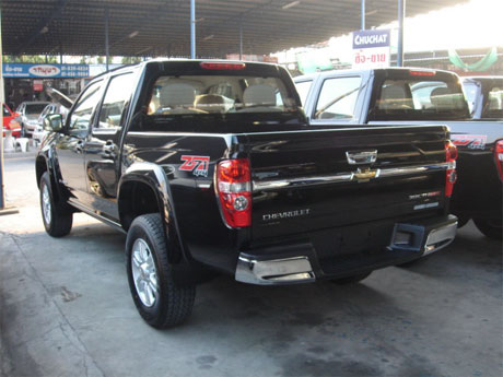 Chevy Colorado 2008 rear - Get your Chevy now at Sam Motors Thailand and Jim 4x4 Thailand