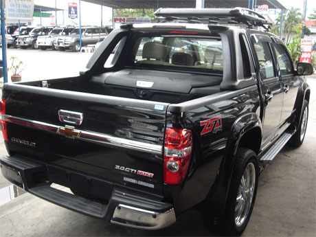 Chevy Colorado 2008 accessorized rear view - Get your Chevy now at Sam Motors Thailand and Jim 4x4 Thailand