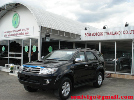 2009 Toyota Fortuner in Sam showroom