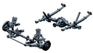 mitsubishi triton suspension is double wishbone. Get your wishes at Sam Motors Thailand and Dubai